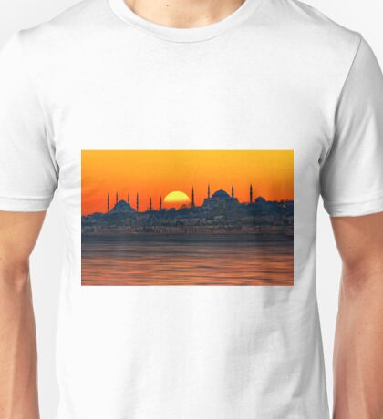 Bosphorus Evenings Unisex T-Shirt