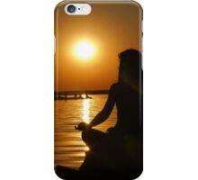 Girl and Sunset iPhone Case/Skin