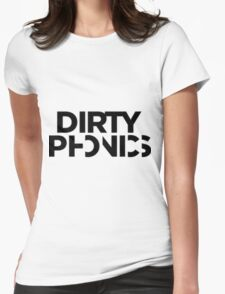 Dirtyphonics Logo #HD Womens Fitted T-Shirt