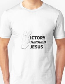 Victory through Jesus T-Shirt