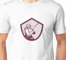 Sandblaster Hose Shield Side Retro Unisex T-Shirt