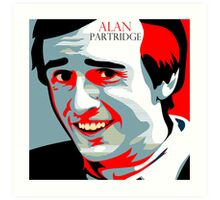 Alan Partridge Art Print