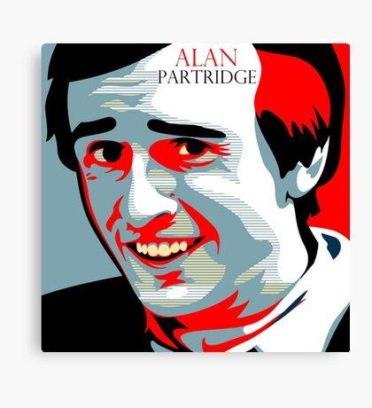 Alan Partridge Canvas Print
