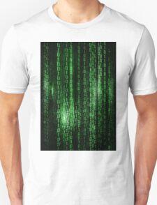 Digital abstract matrix background T-Shirt