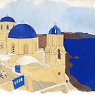 Santorini, the Greek jewel of Aegean Sea by mikath