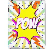 Pow - Comic speech iPad Case/Skin