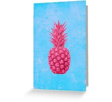 Pineapple love Greeting Card