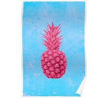 Pineapple love Poster