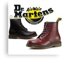 Dr. Martens Canvas Print
