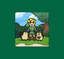 Legend of Zelda Skyward Sword: Link and Kikwis Unisex T-Shirt