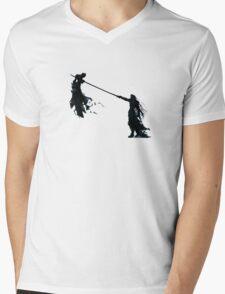 Sephirot vs Cloud  Mens V-Neck T-Shirt