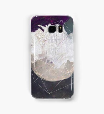 Abstract white volcano Samsung Galaxy Case/Skin