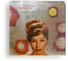 Exotic Sounds From The Silver Screen, Martin Denny Metal Print