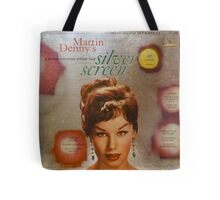 Exotic Sounds From The Silver Screen, Martin Denny Tote Bag