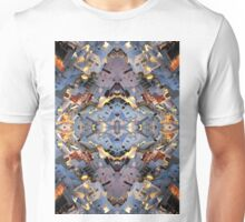 Santorini island abstract pattern Unisex T-Shirt