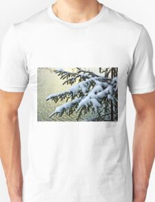 Snow on branches T-Shirt