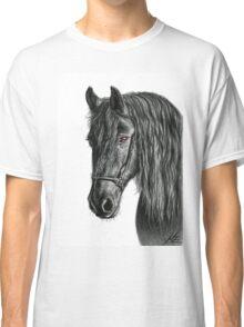 Friesian Horse Classic T-Shirt