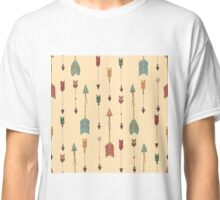 Bohemian hand drawn arrows Classic T-Shirt