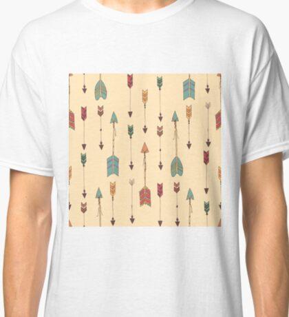 Bohemian hand drawn arrows Classic T-Shirt