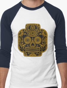 """Lego-Calavera"" Gold Version Men's Baseball ¾ T-Shirt"