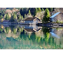 Lake Walchensee Reflections Photographic Print
