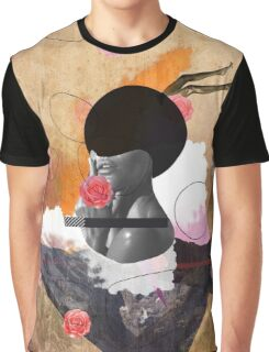 Contemporary fashionistas floral collage Graphic T-Shirt