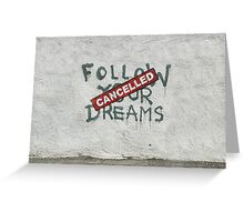 banksy-09 Greeting Card
