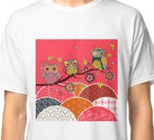 Happy Owls Classic T-Shirt