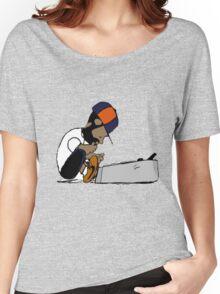J Dilla Print 2 Women's Relaxed Fit T-Shirt