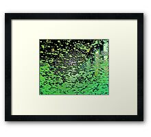 Down at the Carwash II Framed Print