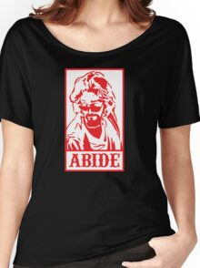 Abide, The Big Lebowski Women's Relaxed Fit T-Shirt