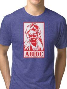 Abide, The Big Lebowski Tri-blend T-Shirt