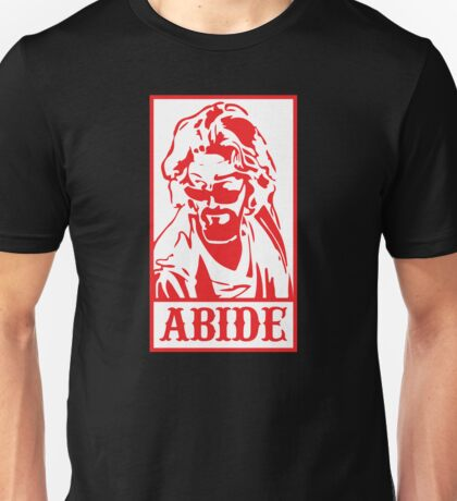 Abide, The Big Lebowski Unisex T-Shirt