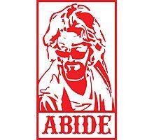Abide, The Big Lebowski Photographic Print