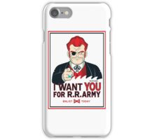 Commander Red Wants YOU! iPhone Case/Skin