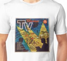 TV THEMES lp Cover, Tops Unisex T-Shirt