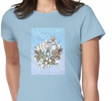 Fairy Wreath Womens Fitted T-Shirt