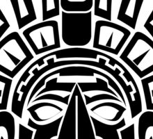 South American Native Mask Sticker