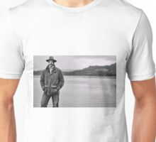 Manly Maureen OHara on the Loch Unisex T-Shirt