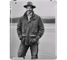 Manly Maureen OHara on the Loch iPad Case/Skin