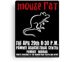 Mouse Rat - Concert Poster Canvas Print
