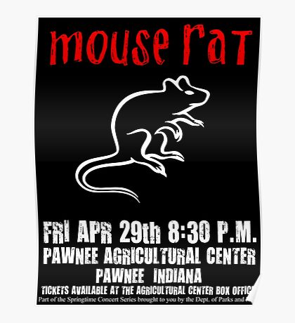 Mouse Rat - Concert Poster Poster