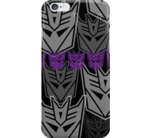 The Iconic Decepticons (black) iPhone Case/Skin