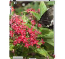 Singapore Butterfly Garden - Black iPad Case/Skin
