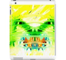 Yellow Psychedelia iPad Case/Skin