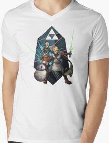 The Triforce Awakens Mens V-Neck T-Shirt