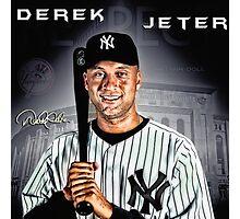Derek Jeter Photographic Print