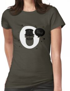 AHOY! Womens Fitted T-Shirt