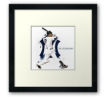 Derek Jeter Be Legendary Framed Print