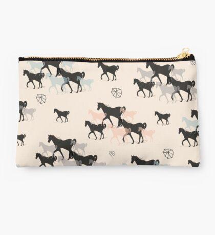 Horses Studio Pouch